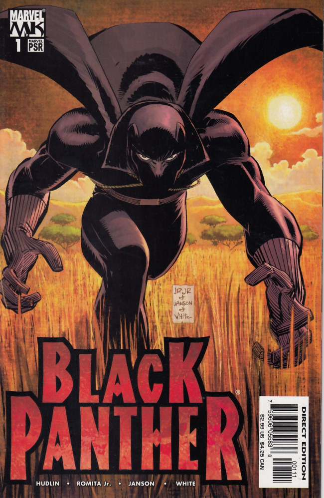 Couverture de Black Panther Vol.4 (Marvel - 2005) -1- Who is the Black Panther? Part one