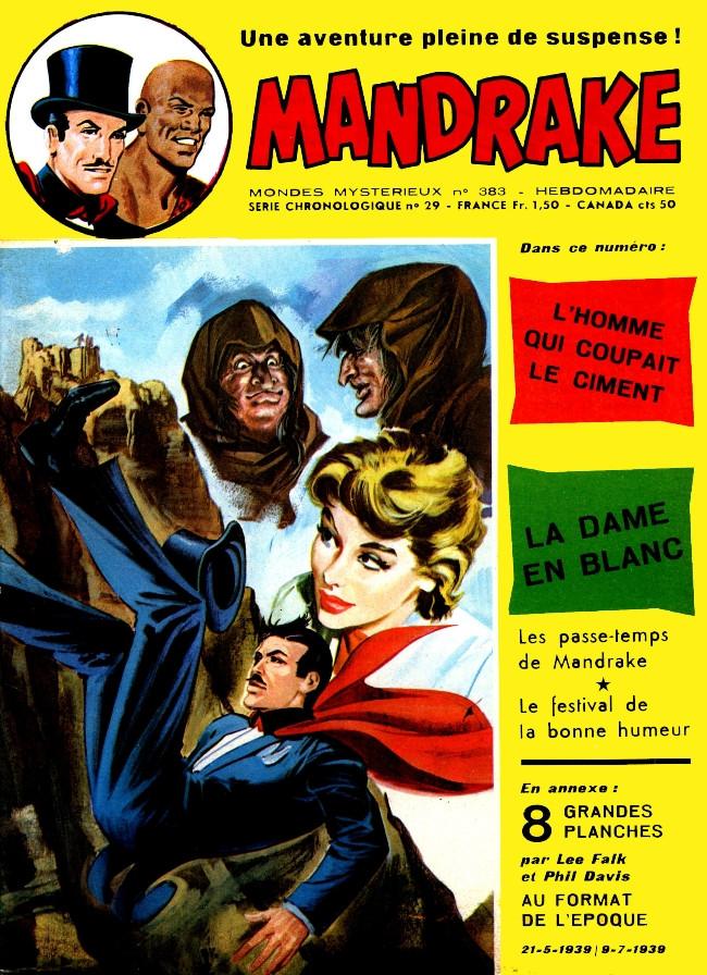 Couverture de Mandrake (1re Série - Remparts) (Mondes Mystérieux - 1) -383- L'homme qui coupait le ciment