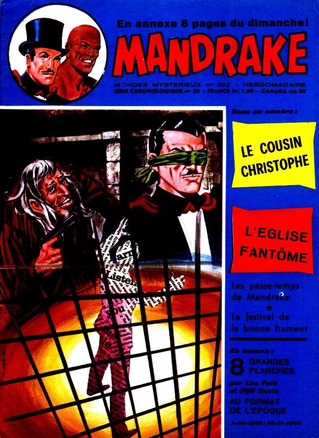 Couverture de Mandrake (1re Série - Remparts) (Mondes Mystérieux - 1) -392- Le cousin Christophe