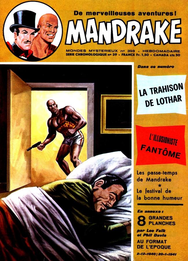 Couverture de Mandrake (1re Série - Remparts) (Mondes Mystérieux - 1) -393- La trahison de Lothar