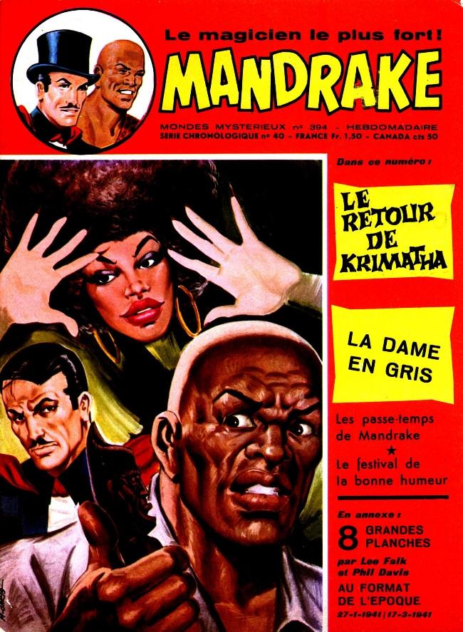 Couverture de Mandrake (1re Série - Remparts) (Mondes Mystérieux - 1) -394- Le retour de Krimatha
