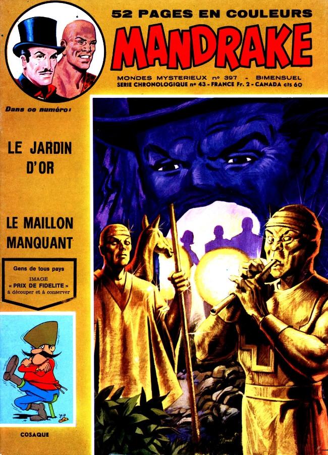 Couverture de Mandrake (1re Série - Remparts) (Mondes Mystérieux - 1) -397- Le jardin d'or