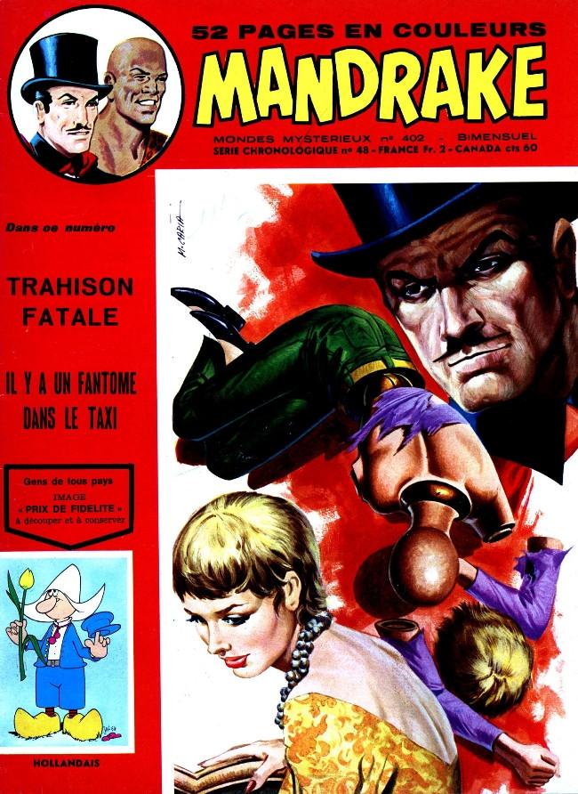 Couverture de Mandrake (1re Série - Remparts) (Mondes Mystérieux - 1) -402- Trahison fatale - 2e épisode de Panique à l'université