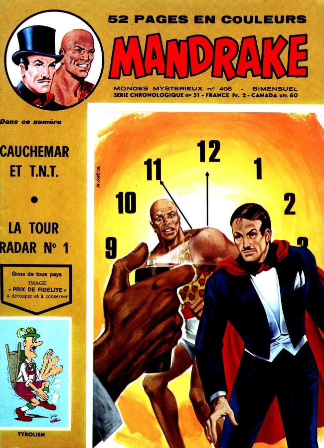 Couverture de Mandrake (1re Série - Remparts) (Mondes Mystérieux - 1) -405- Cauchemar en T.N.T