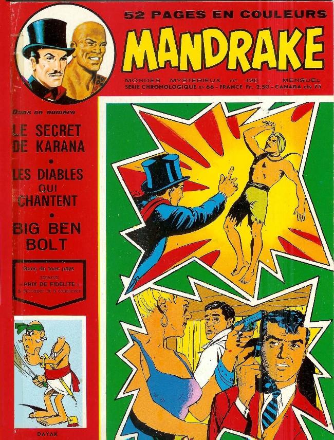 Couverture de Mandrake (1re Série - Remparts) (Mondes Mystérieux - 1) -420- Les jumeaux de Karana