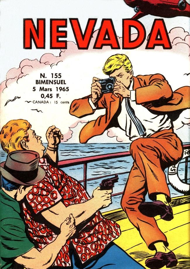 Couverture de Nevada (LUG) -155- Numéro 155