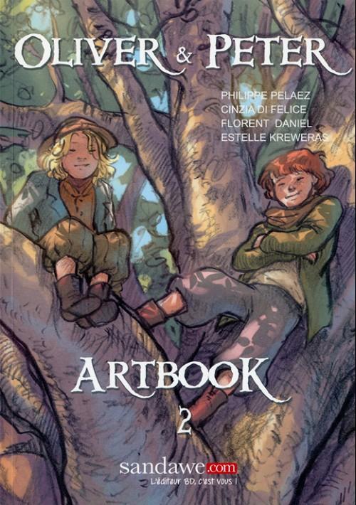 Couverture de Oliver & Peter -HS2- Artbook 2