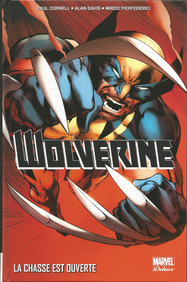 Couverture de Wolverine (Marvel Deluxe) - La Chasse est Ouverte