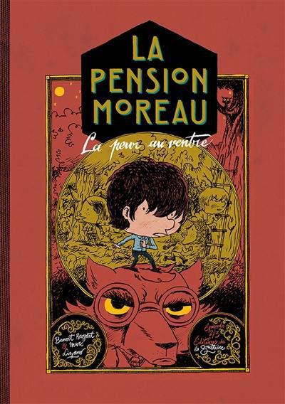 Couverture de La pension Moreau -2- La peur au ventre