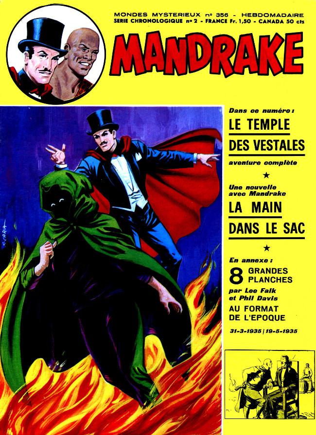 Couverture de Mandrake (1re Série - Remparts) (Mondes Mystérieux - 1) -356- Le temple des vestales