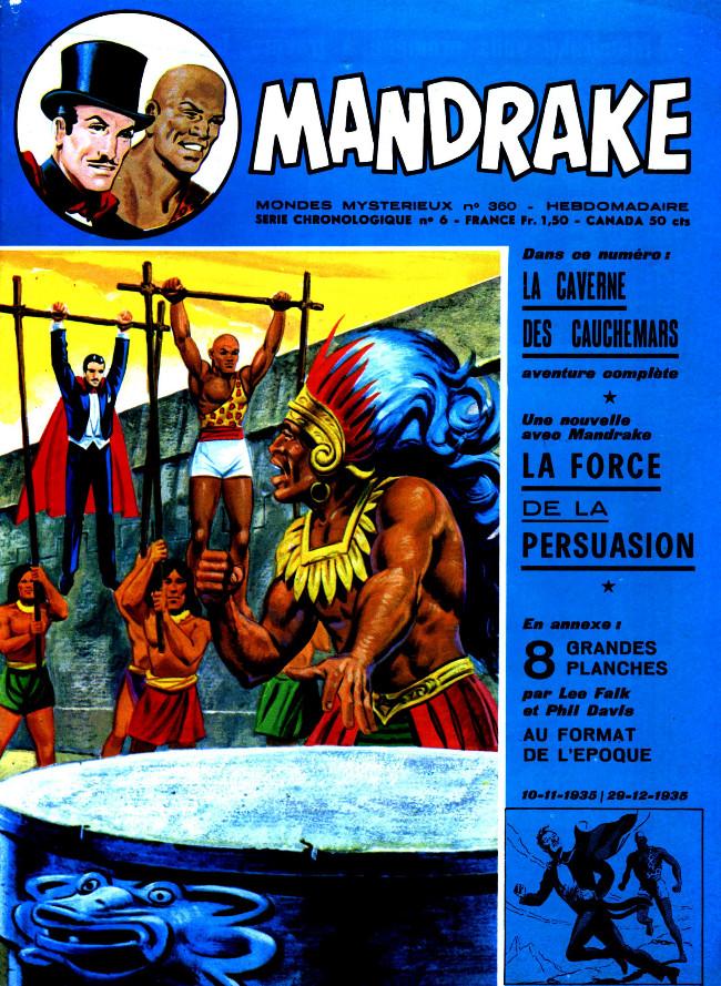 Couverture de Mandrake (1re Série - Remparts) (Mondes Mystérieux - 1) -360- La caverne des cauchemars