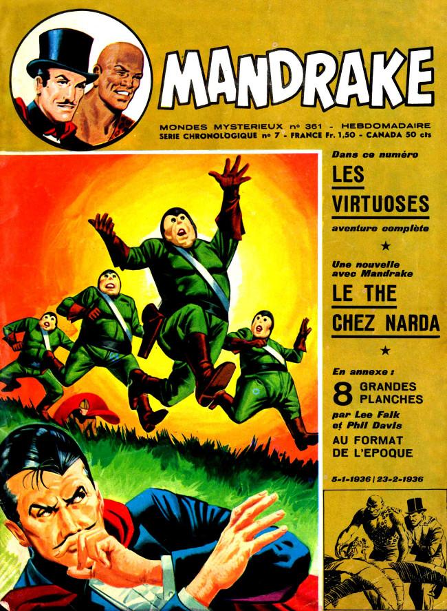 Couverture de Mandrake (1re Série - Remparts) (Mondes Mystérieux - 1) -361- Les virtuoses