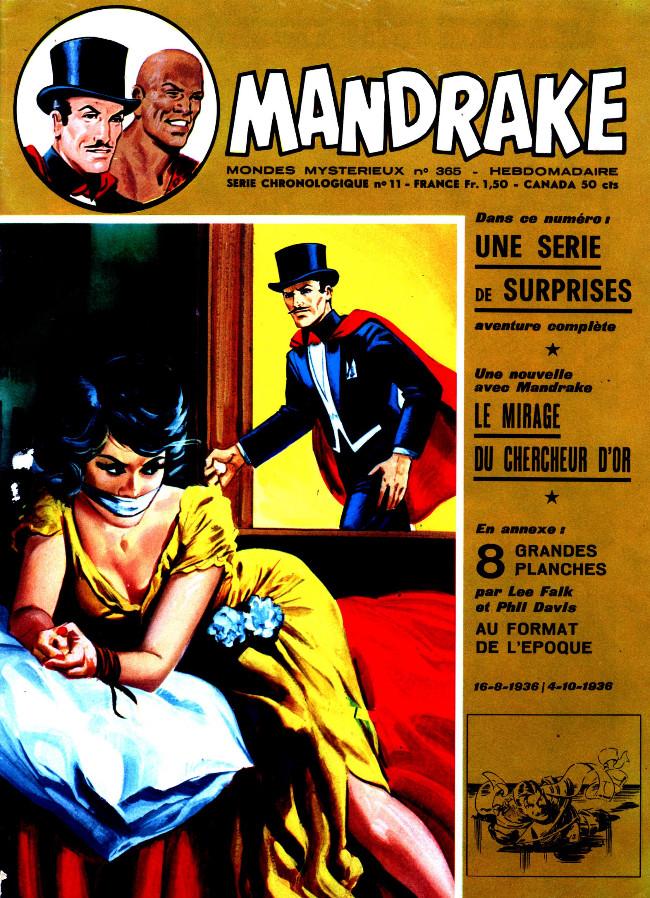 Couverture de Mandrake (1re Série - Remparts) (Mondes Mystérieux - 1) -365- Une série de surprises