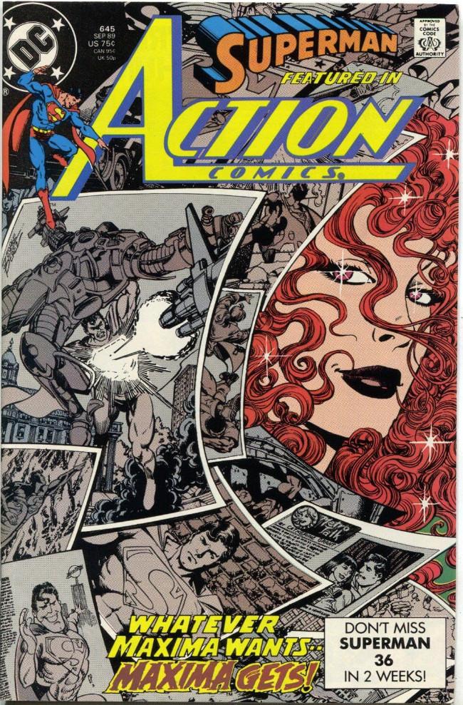 Couverture de Action Comics (DC Comics - 1938) -645- My Lady Maxima!