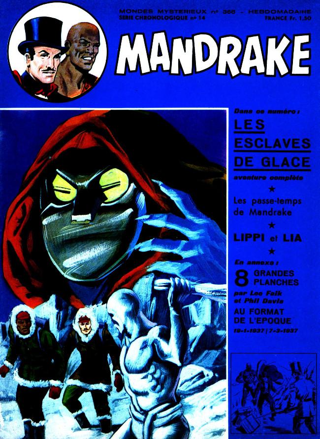 Couverture de Mandrake (1re Série - Remparts) (Mondes Mystérieux - 1) -368- Les esclaves de glace