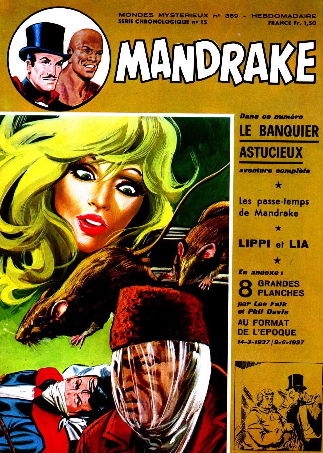 Couverture de Mandrake (1re Série - Remparts) (Mondes Mystérieux - 1) -369- Le banquier astucieux