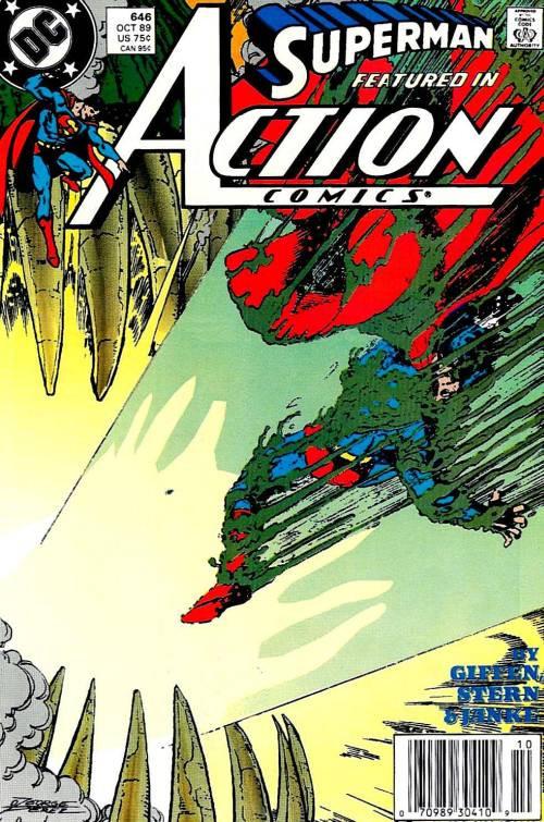 Couverture de Action Comics (DC Comics - 1938) -646- Burial Ground