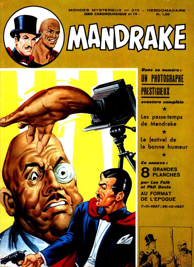 Couverture de Mandrake (1re Série - Remparts) (Mondes Mystérieux - 1) -373- Un photographe prestigieux