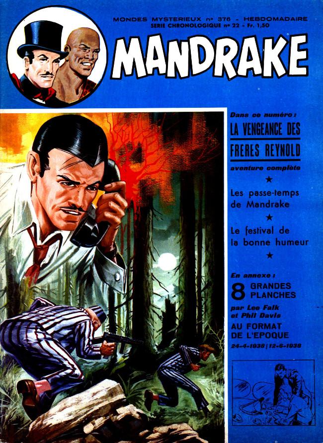 Couverture de Mandrake (1re Série - Remparts) (Mondes Mystérieux - 1) -376- La vengeance des frères Reynold