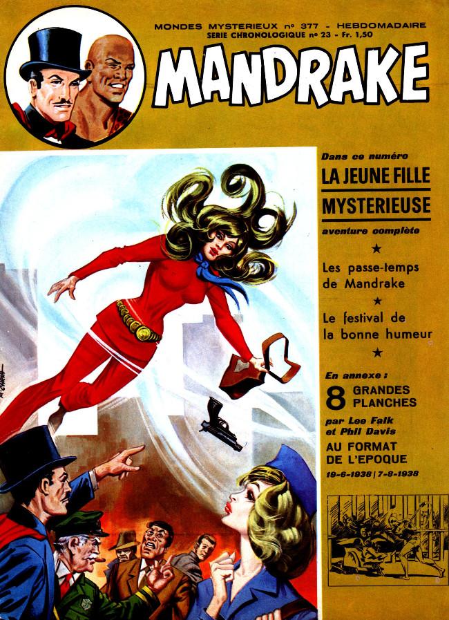 Couverture de Mandrake (1re Série - Remparts) (Mondes Mystérieux - 1) -377- La jeune fille mystérieuse