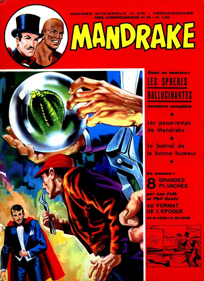 Couverture de Mandrake (1re Série - Remparts) (Mondes Mystérieux - 1) -378- Les sphères hallucinantes
