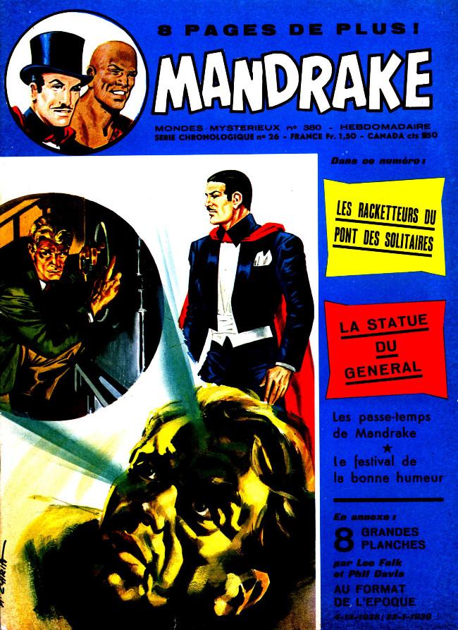 Couverture de Mandrake (1re Série - Remparts) (Mondes Mystérieux - 1) -380- Les racketteurs du pont des solitaires