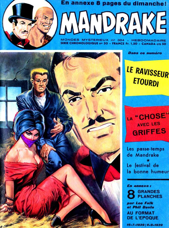 Couverture de Mandrake (1re Série - Remparts) (Mondes Mystérieux - 1) -384- Le ravisseur étourdi