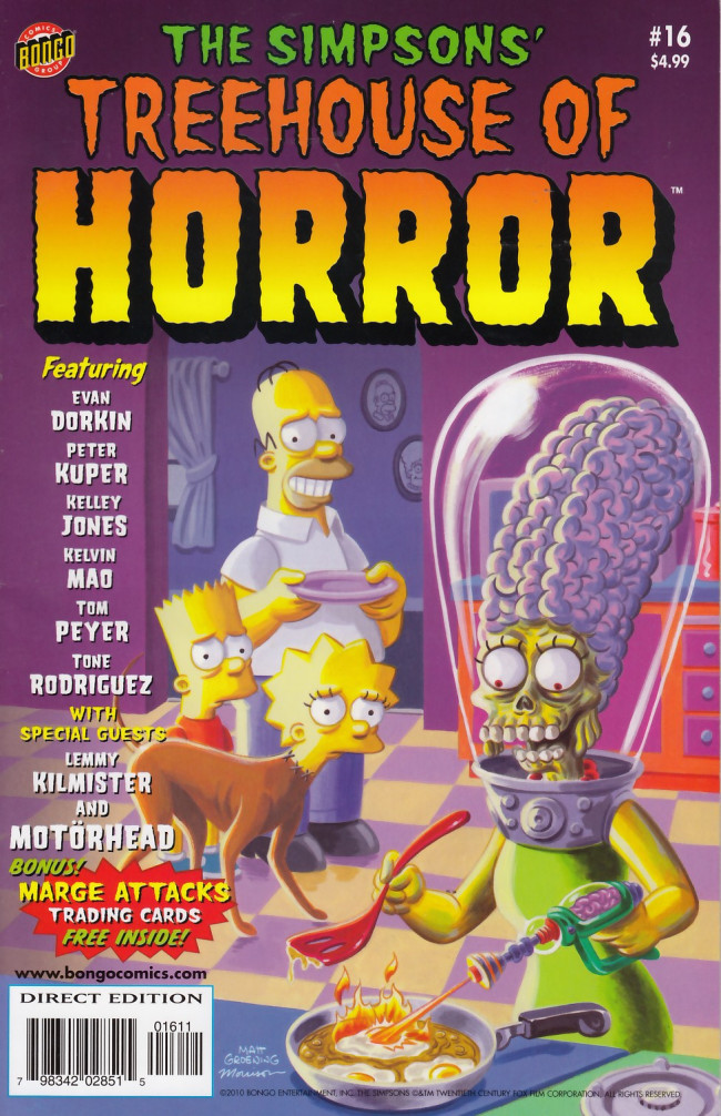 Couverture de Simpsons (The): Treehouse of Horror (1995) -16- Treehouse of Horror #16