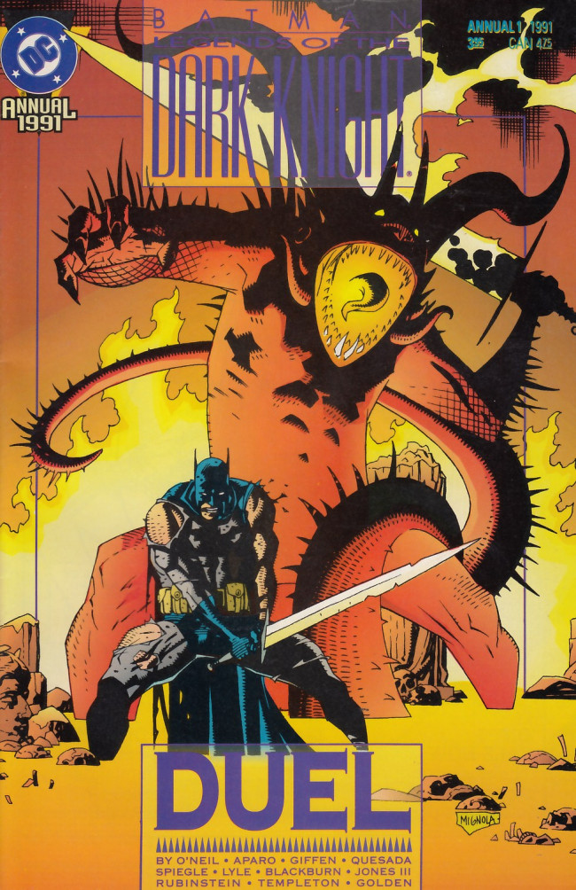 Couverture de Batman: Legends of the Dark Knight (1989) -AN01- Duel
