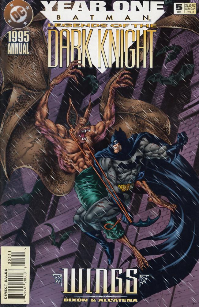 Couverture de Batman: Legends of the Dark Knight (1989) -AN05- Wings
