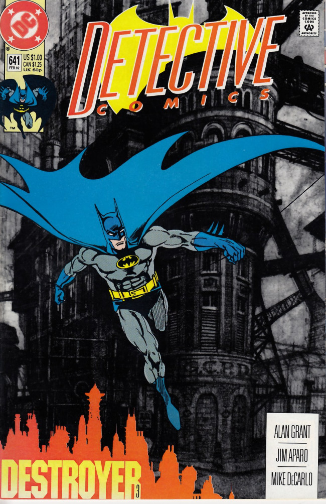 Couverture de Detective Comics (1937) -641- The Destroyer, Part 3: A Dream is Forever