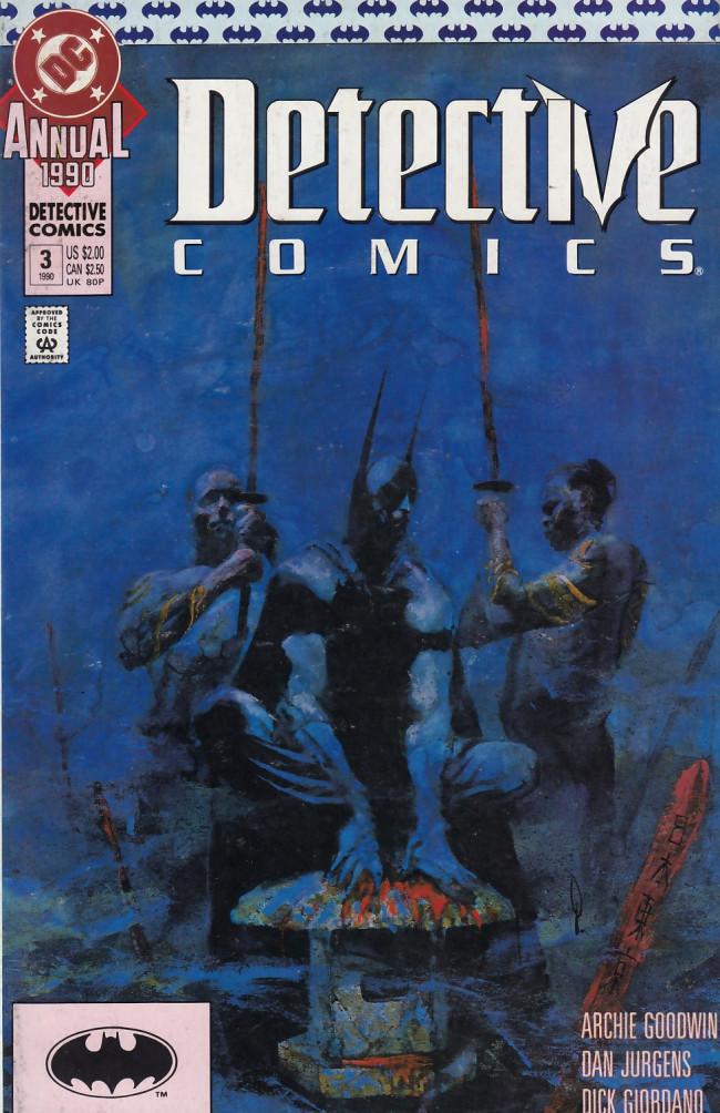 Couverture de Detective Comics (1937) -AN03- Obligation