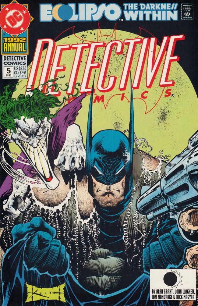 Couverture de Detective Comics (1937) -AN05- Act of madness