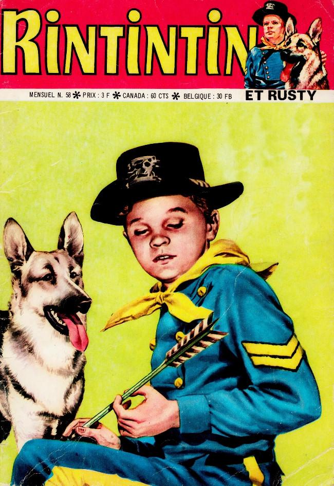 Couverture de Rin Tin Tin & Rusty (2e série) -58- Adieu, Rintintin !