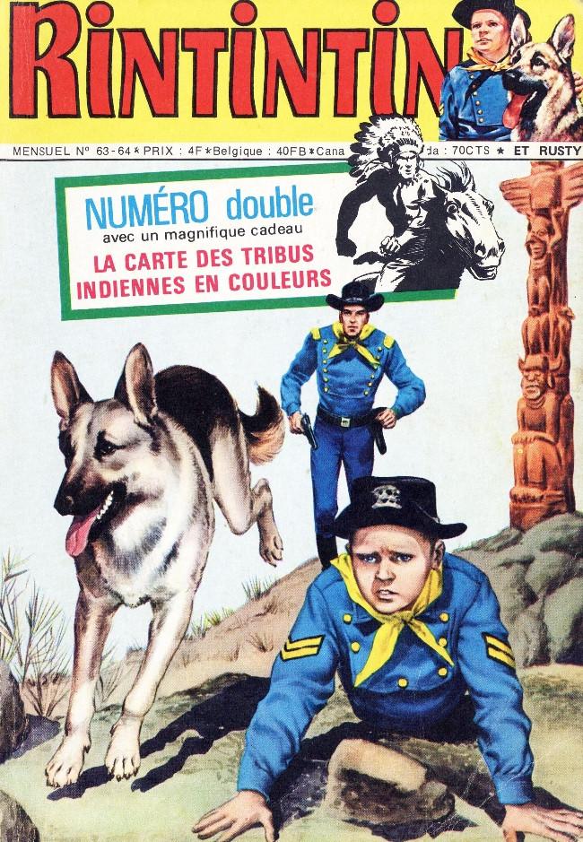 Couverture de Rin Tin Tin & Rusty (2e série) -6364- Le sortilège