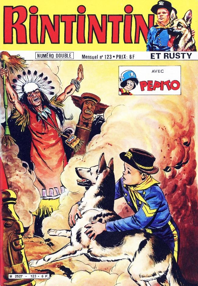 Couverture de Rin Tin Tin & Rusty (2e série) -123- Le cuisiner suédois