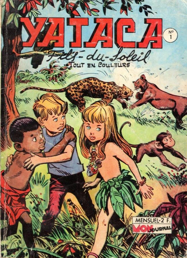 Couverture de Yataca (Fils-du-Soleil) -1- Les petits d'hommes