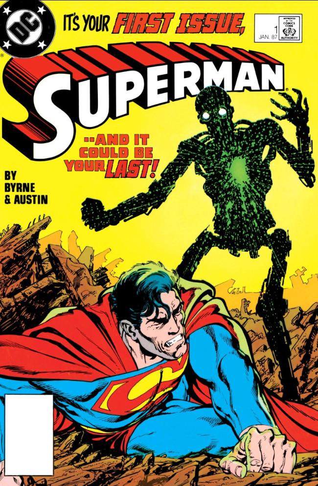 Couverture de Superman (1987) -1- Heart of Stone