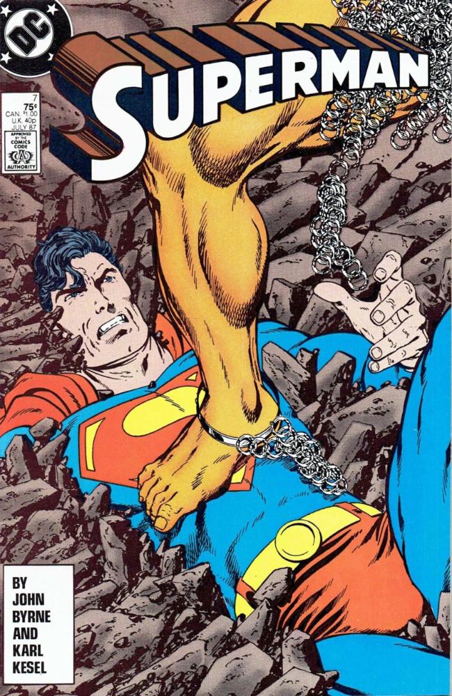 Couverture de Superman (1987) -7- Rampage