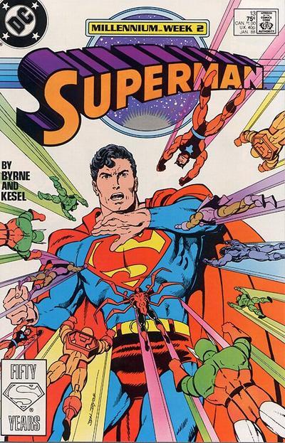 Couverture de Superman (1987) -13- Toys in the Attic