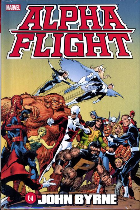 Couverture de Alpha Flight (1983) -OMNI- Alpha Flight by John Byrne Omnibus