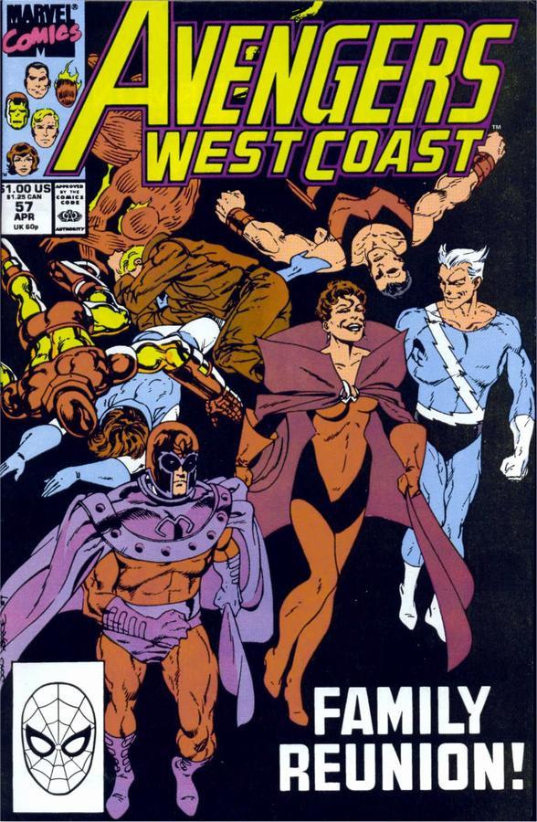 Couverture de Avengers West Coast (1989) -57- Family Reunion