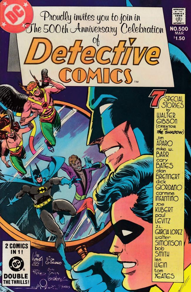 Couverture de Detective Comics (1937) -500- To kill a legend