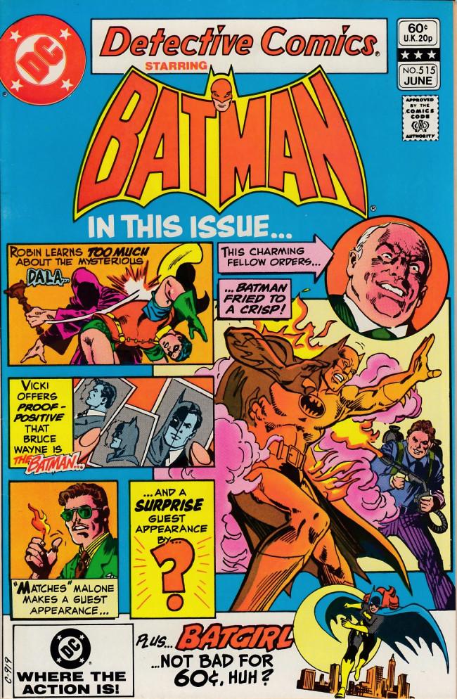 Couverture de Detective Comics (1937) -515- College for killers