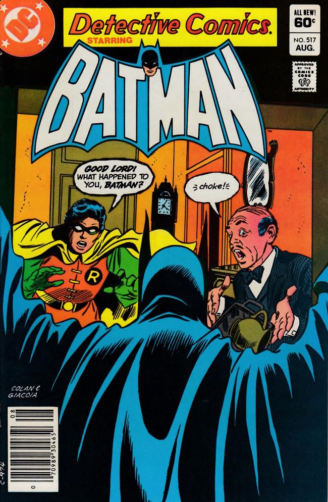 Couverture de Detective Comics (1937) -517- The monster in the mirror