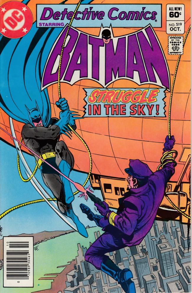 Couverture de Detective Comics (1937) -519- Like a dreadnought in the sky