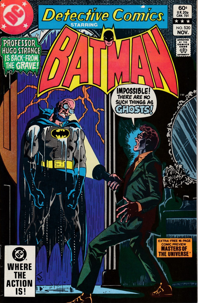 Couverture de Detective Comics (1937) -520- The haunting of Boss Thorne