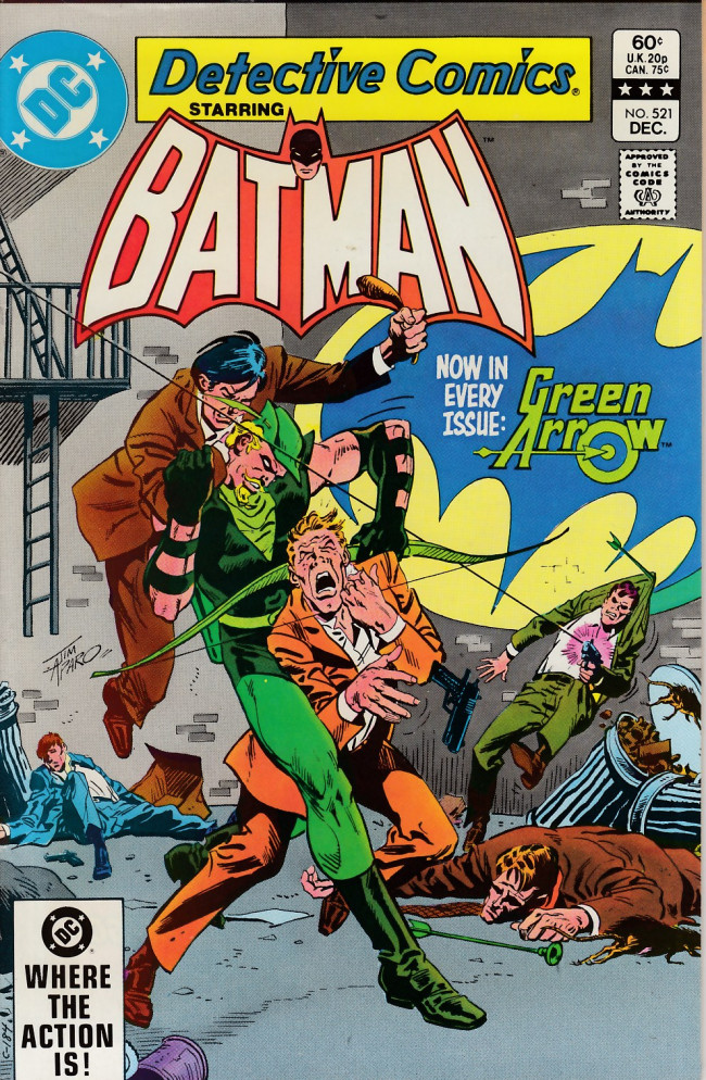 Couverture de Detective Comics (1937) -521- Cat tale