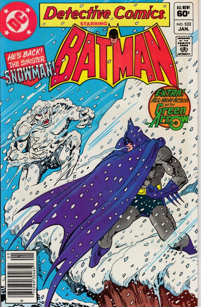 Couverture de Detective Comics (1937) -522- Snow blind