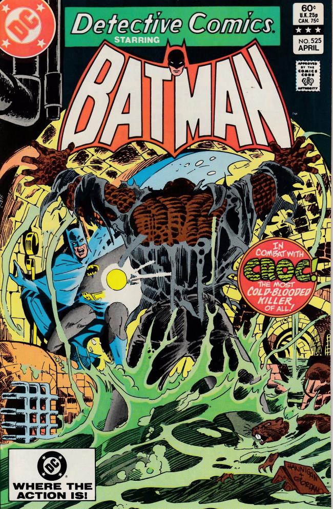 Couverture de Detective Comics (1937) -525- Confrontation